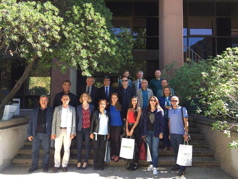 Recyclia con la delegación turca