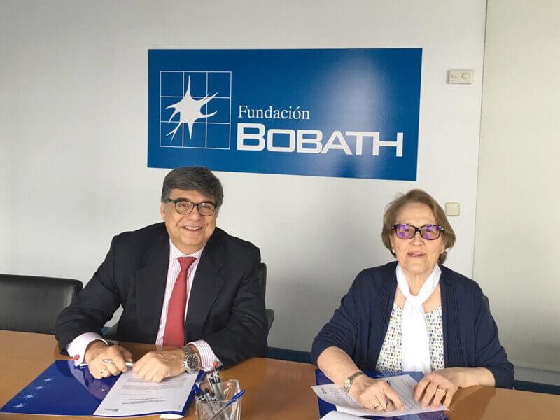 Renovación de la colaboración de la Fundación Bobath y Recyclia